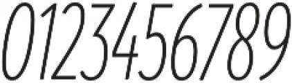 Branding SF Cmp Light It otf (300) Font OTHER CHARS