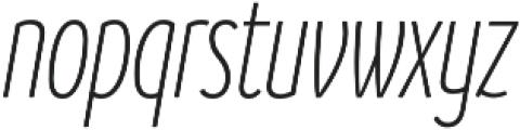 Branding SF Cmp Light It otf (300) Font LOWERCASE