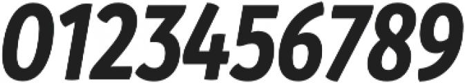 Branding SF Cnd Bold It otf (700) Font OTHER CHARS