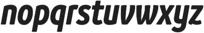 Branding SF Cnd Bold It otf (700) Font LOWERCASE