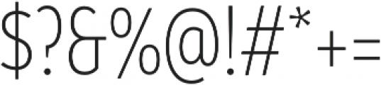 Branding SF Cnd Light otf (300) Font OTHER CHARS