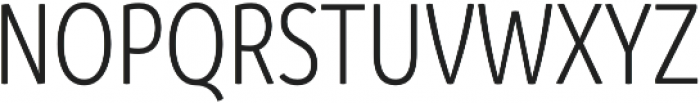 Branding SF Cnd SemiLight otf (300) Font UPPERCASE
