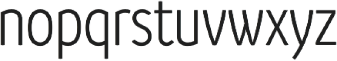 Branding SF Cnd SemiLight otf (300) Font LOWERCASE