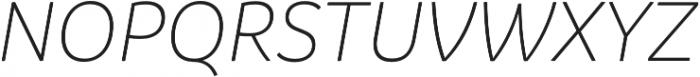 Branding SF Light It otf (300) Font UPPERCASE