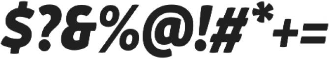 Branding SF Narrow Black It otf (900) Font OTHER CHARS