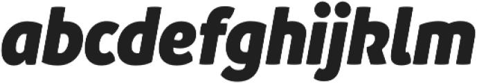 Branding SF Narrow Black It otf (900) Font LOWERCASE