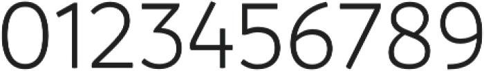 Branding Semilight otf (300) Font OTHER CHARS