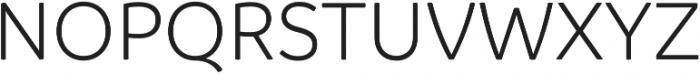 Branding Semilight otf (300) Font UPPERCASE