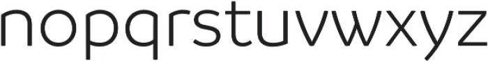 Branding Semilight otf (300) Font LOWERCASE