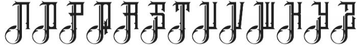 Brandley otf (400) Font UPPERCASE