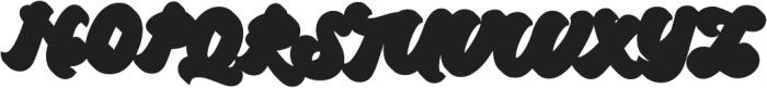 Brandy Extrude otf (400) Font UPPERCASE