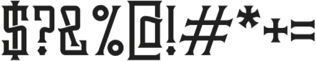 Brandy Label Base otf (400) Font OTHER CHARS