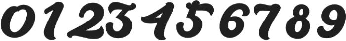 Brandy otf (400) Font OTHER CHARS