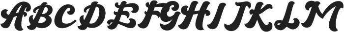 Brandy otf (400) Font UPPERCASE