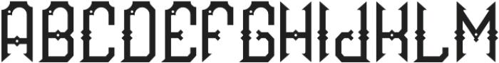 Brandy02 Regular otf (400) Font LOWERCASE