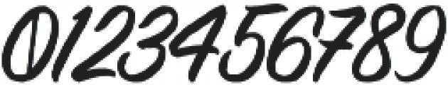 Brashed Typeface otf (400) Font OTHER CHARS