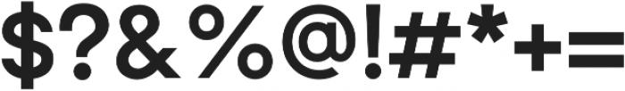 Brasley Bold otf (700) Font OTHER CHARS