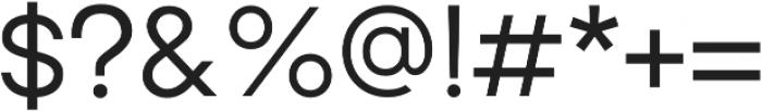 Brasley Medium otf (500) Font OTHER CHARS