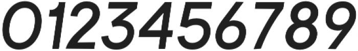 Brasley SemiBold Italic otf (600) Font OTHER CHARS