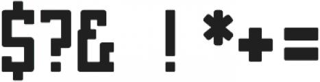 Brassie Bold otf (700) Font OTHER CHARS