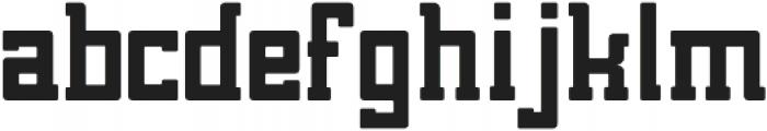 Brassie Bold otf (700) Font LOWERCASE
