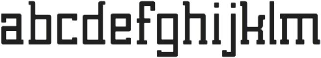Brassie otf (400) Font LOWERCASE