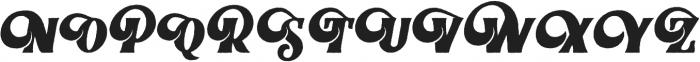 Braton Composer Rough otf (400) Font UPPERCASE