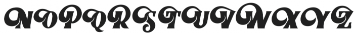 Braton Composer otf (400) Font UPPERCASE