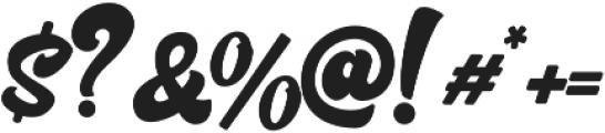Bratsy Script Reguler otf (400) Font OTHER CHARS