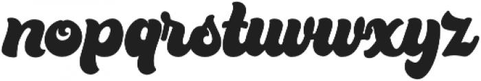 Bratsy Script Reguler otf (400) Font LOWERCASE