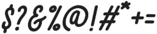 Brave Script otf (400) Font OTHER CHARS