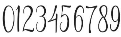 Braveheart otf (400) Font OTHER CHARS