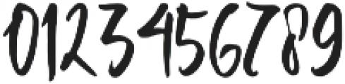 Bravelove Regular otf (400) Font OTHER CHARS