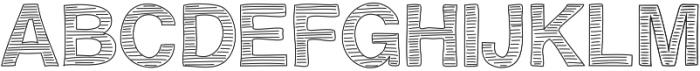 BravuraAllCapslined ttf (400) Font UPPERCASE
