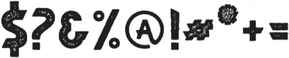 Braxton Sans Stamp otf (400) Font OTHER CHARS
