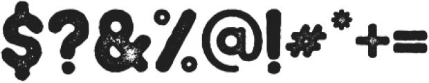 Braxton Stamp otf (400) Font OTHER CHARS