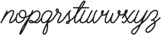 Brayden Script otf (400) Font LOWERCASE
