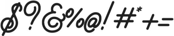 Brayden Script otf (700) Font OTHER CHARS