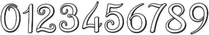 Brazilian Script Regular otf (400) Font OTHER CHARS