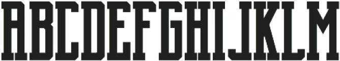 Brch Bold otf (700) Font LOWERCASE