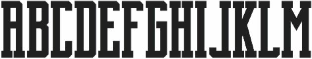 Brch Bold ttf (700) Font UPPERCASE