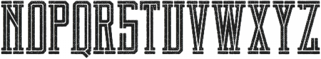 Brch Cutrough otf (400) Font UPPERCASE