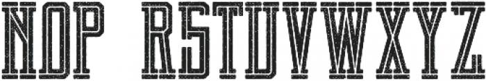 Brch Cutrough otf (400) Font LOWERCASE