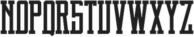 Brch Regular otf (400) Font UPPERCASE