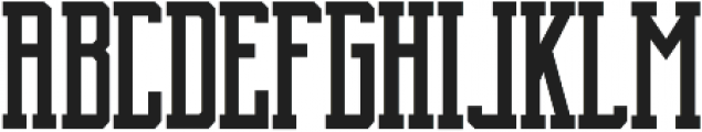 Brch Regular otf (400) Font LOWERCASE
