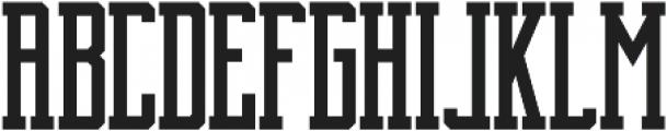 Brch Regular ttf (400) Font UPPERCASE