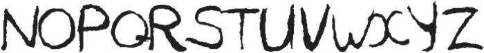 BreadBury-font-Regular otf (400) Font UPPERCASE