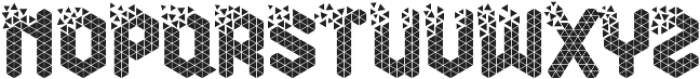 Break Cube otf (400) Font UPPERCASE