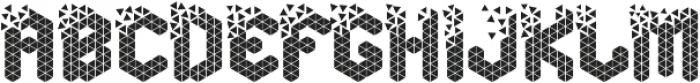Break Cube otf (400) Font LOWERCASE
