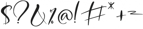 Breathe Me Script Regular otf (400) Font OTHER CHARS